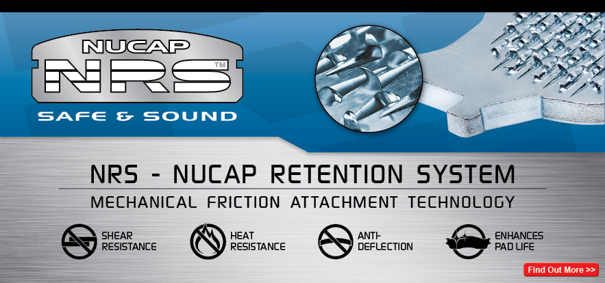 NUCAP NRS better backing plates